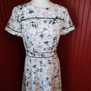 NWOT Brooks Brothers Floral Dress 8